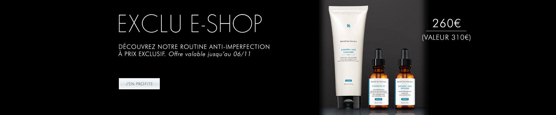 Offre exclusive - routine anti-imperfections